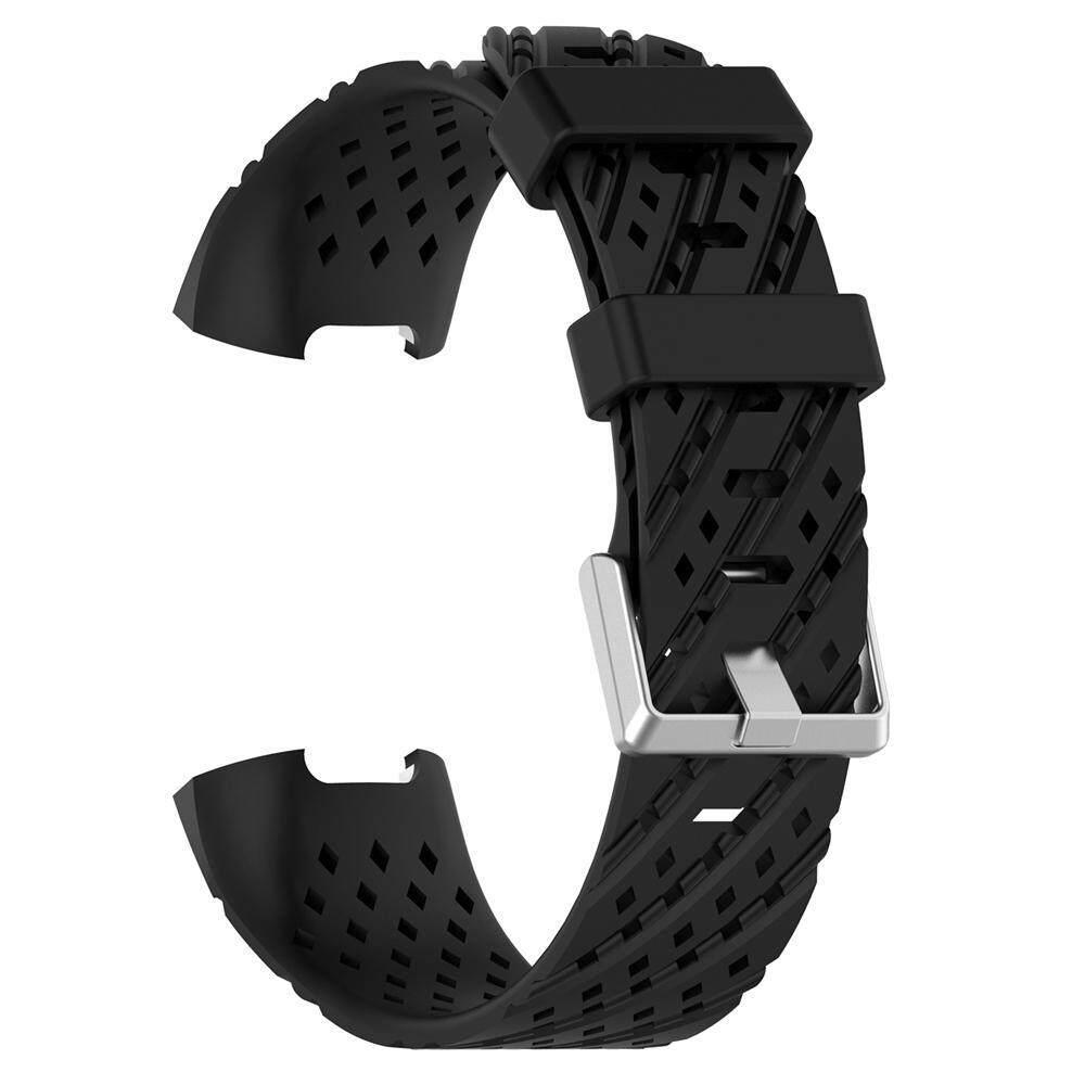Wincoo 1 Pcs Silikon Tali untuk Fitbit Charge 3 Strap Pergelangan Tangan untuk Fitbit Band Pengganti