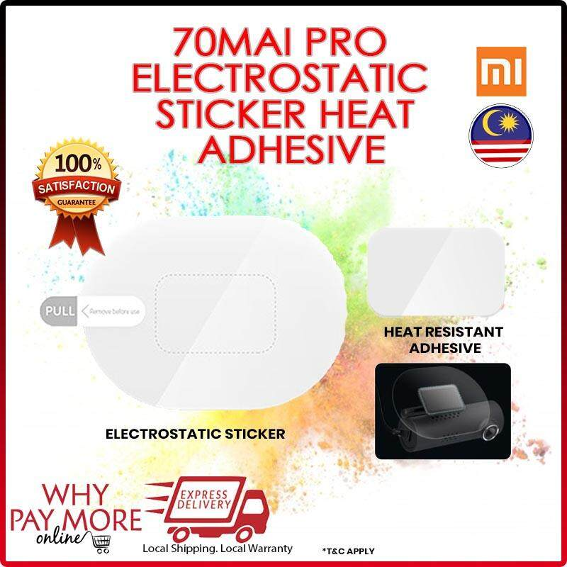 [ORIGINAL][READY STOCK] 70Mai 70Mai PRO 3M Electrostatic Sticker Heat Resistant Adhesive FREE SHIPPING