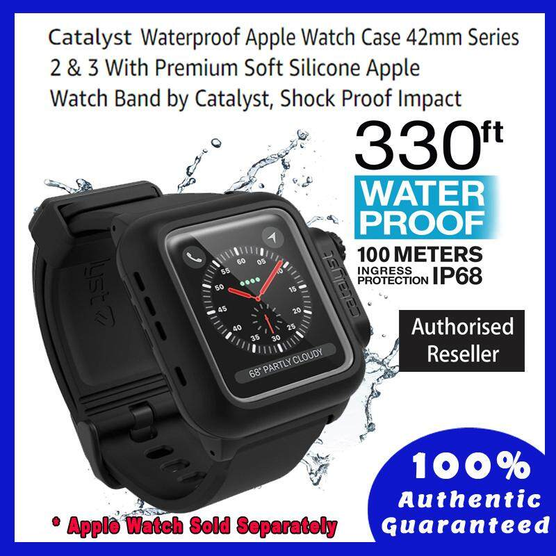 reputable site 8be1f de2c9 [42mm] Original Catalyst Waterproof Case-Apple Watch 42mm (Series 3/2) -  Stealth Black