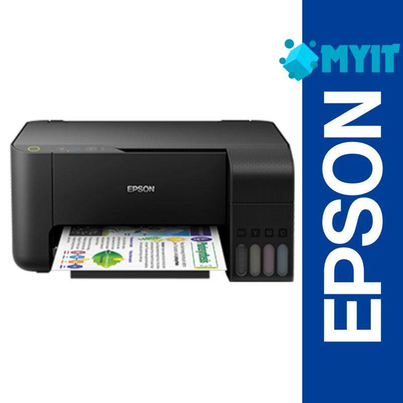 Epson EcoTank L3110 A4 Photo Inkjet Printer 3 in 1 with Built-in Ink Tank (Print / Scan / Copy)