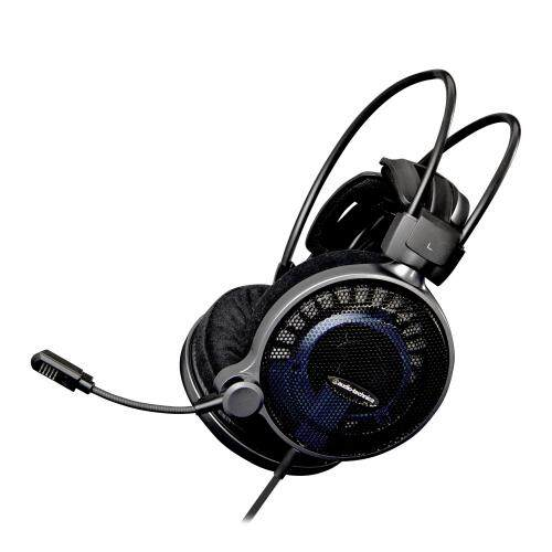 Audio Technica ATH-ADG1X High-Fidelity Over-ear Gaming Headset 53mm Drivers Open Air Design Headphones with Mic and Volume Control