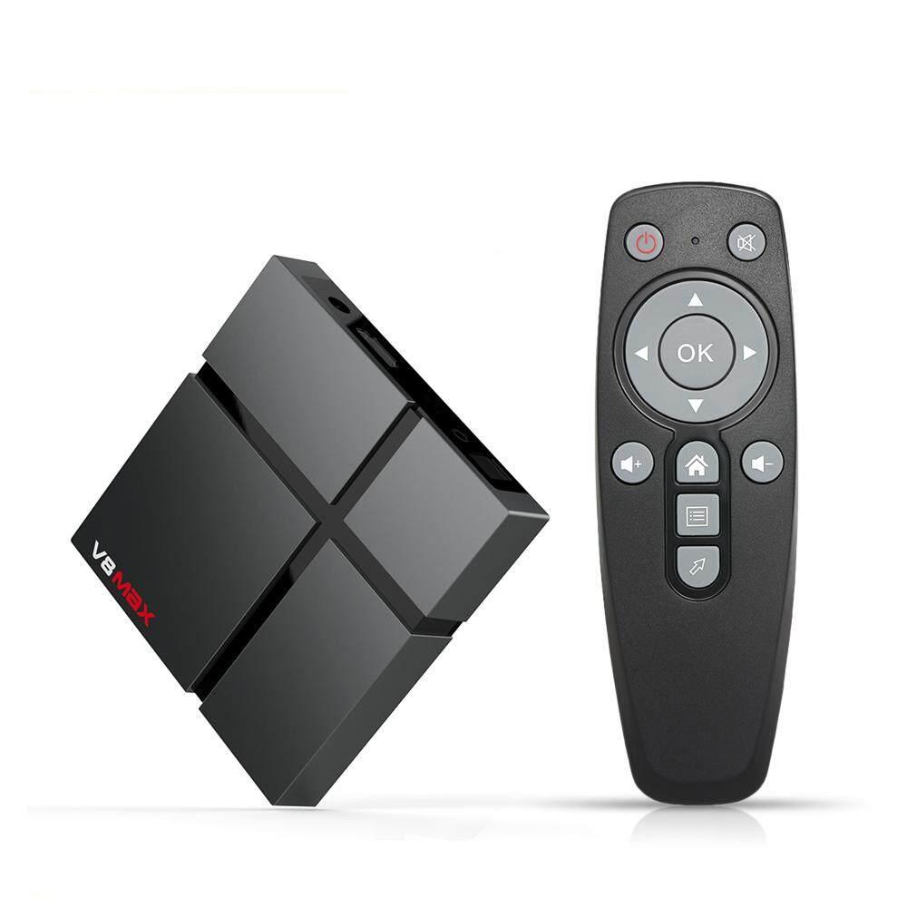 ทำบัตรเครดิตออนไลน์  มหาสารคาม V8 MAX สมาร์ททีวี Bo - X Android 8.1 4 GB DDR4 64 GB EMMC Amlogic S905X2 2.4G + 5G WiFi BT 4.1 กล่องสมาร์ททีวีสนับสนุน 4 K ชุด HD กล่องด้านบน