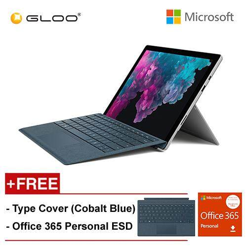 NEW Microsoft Surface Pro 6 Core i7/8GB RAM - 256GB + Type Cover Cobalt Blue + Office 365 Personal