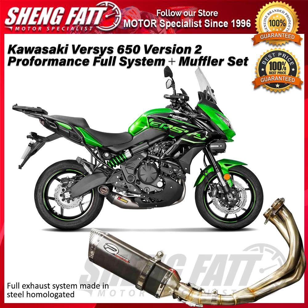 Kawasaki Versys 650 MRK34-77 Version 2 Proformance Full System + Muffler Set