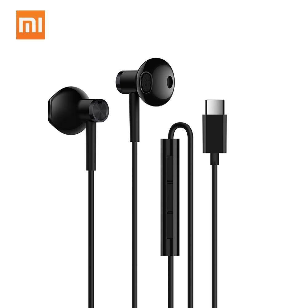 สอนใช้งาน  อ่างทอง Original Xiaomi Dual - หน่วย Half - In - Ear Type - C หูฟัง MEMS ไมโครโฟนมีสายควบคุมหูฟังเพลงสเตอริโอทนทานหูฟังสำหรับสมาร์ทโฟน T ablet
