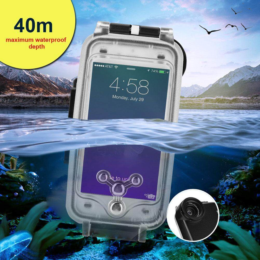 Other Gadgets - Waterproof Underwater Diving Housing Photo Waterproof Pouch - [BLACK / WHITE]