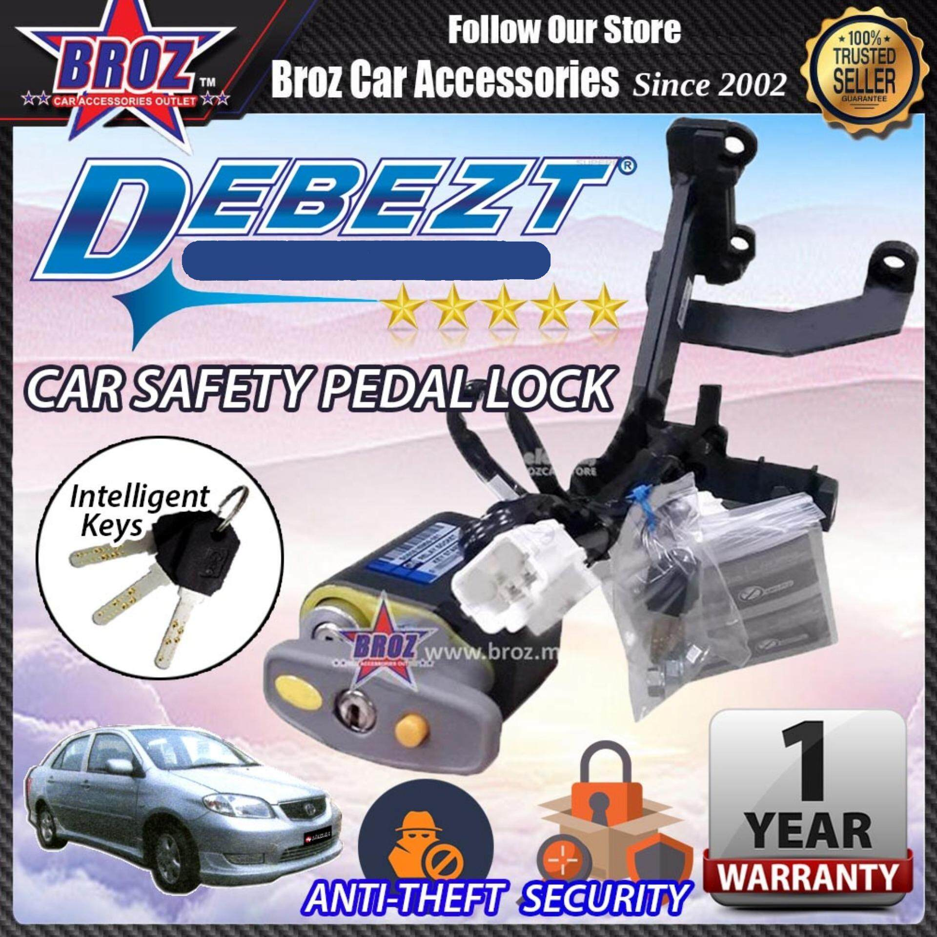 Vios 2003-2006 Debezt Auto Key Start Anti Theft Double Pedal Lock
