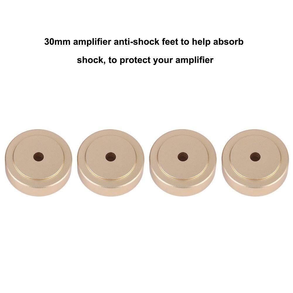 Portable Speakers - Amplifier Aluminium Feet 4PCS 30*10mm Aluminum Alloy - [SILVER / GOLD]