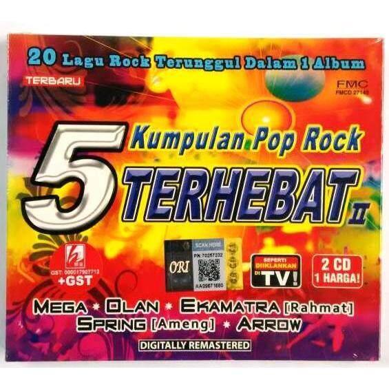 5 Kumpulan Pop Rock Terhebat II Mega Olan Ekamtra Spring Arrow 2CD af04f4b002