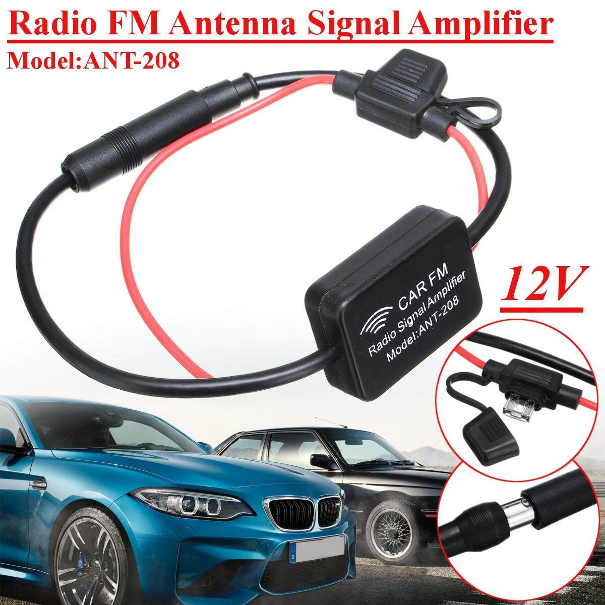 Free Pengiriman + Flash Deal?ant-208 Antena Radio Antena FM Sinyal Amplifier ?