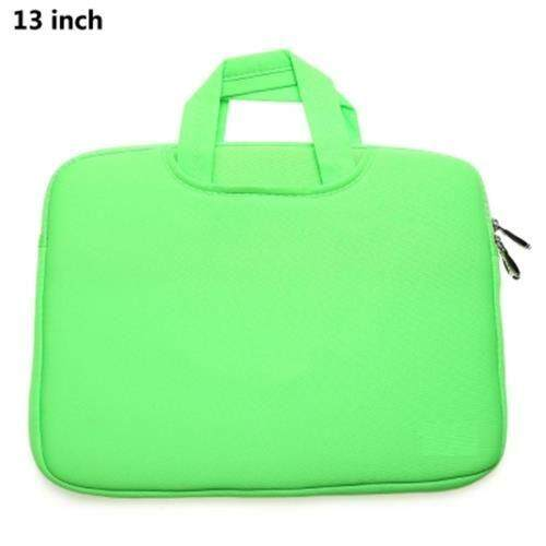 13 INCH LAPTOP BAG TABLET ZIPPER POUCH SLEEVE FOR MACBOOK AIR / PRO (GREEN)