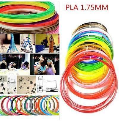 Arts & Graphics - 3D Pen Filament Refills (1.75mm) - [3METERS- 3COLORS / 5METERS-10 COLORS / 5METERS-12 COLORS / 5METERS-20 COLORS / 10METERS- 10 COLORS]