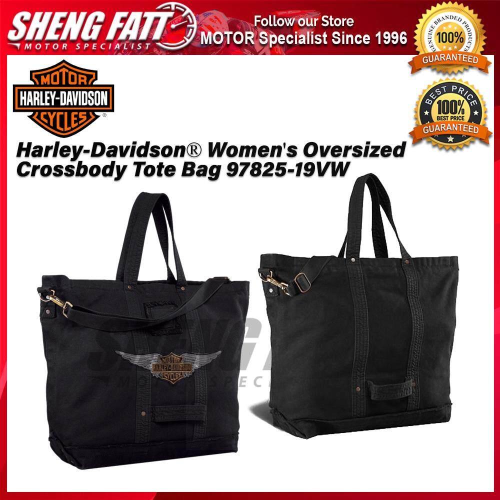 Harley-Davidson® Women's Oversized Crossbody Tote Bag 97825-19VW - [ORIGINAL]