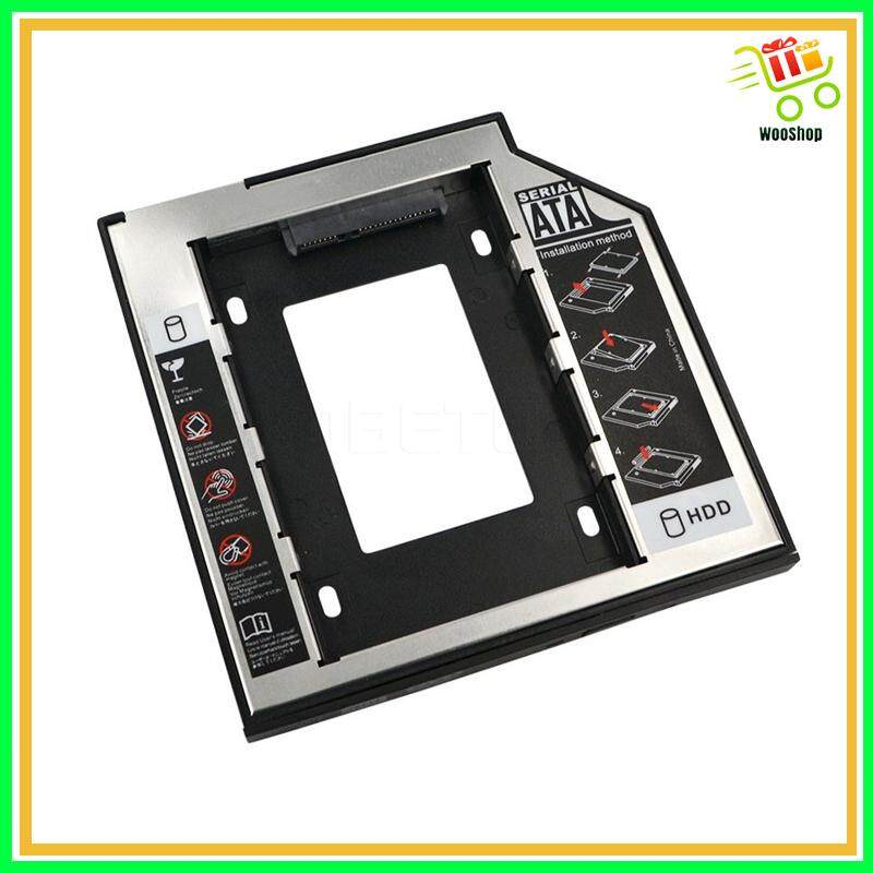 Aluminum SATA 3.0 2nd HDD Caddy 9.5mm SSD Case HDD Enclosure