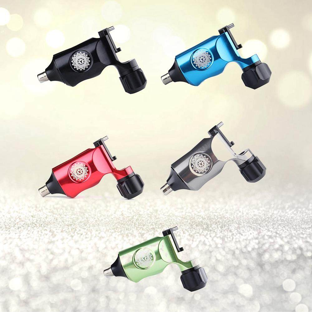 Brushes & Beauty Tools - 5Colors Rotary Liner Shader Tattoo Machine Strong Motor - [BLACK / RED / BLUE / GREEN / SILVER]