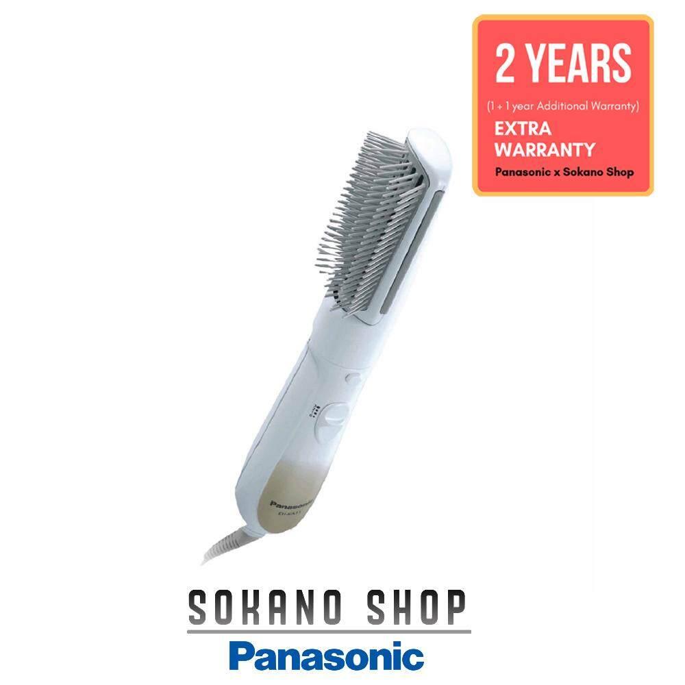 Panasonic EH-KA11-w Hair Styler Silent Operation Straightening Brush
