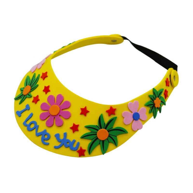 Saizhi Bọt Xốp EVA Mũ Đan Hình Hoa Sáng Tạo Sao Mẫu Giáo Nghệ Thuật Trẻ Em Đồ Chơi Tự Làm Tiệc Đồ Trang Trí Tự Làm Quà Tặng