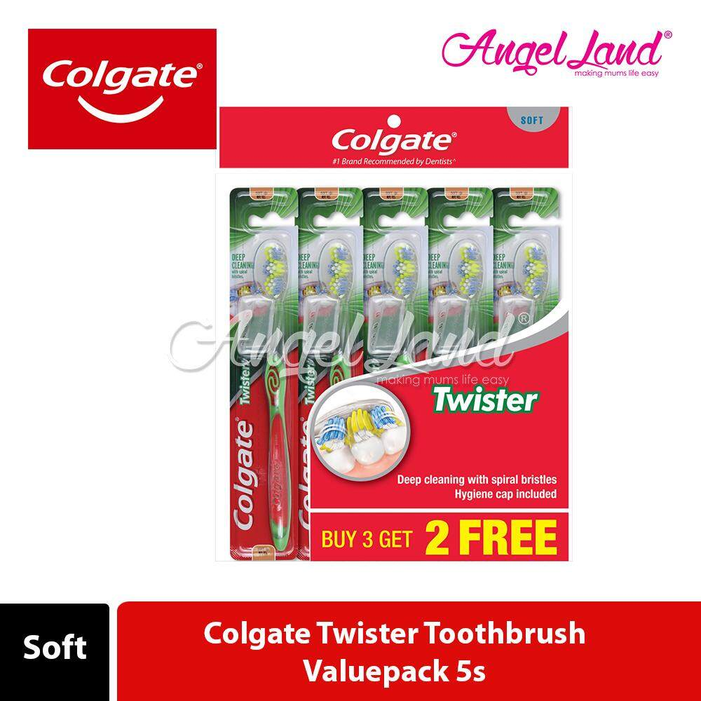 Colgate Twister Toothbrush Valuepack 5s