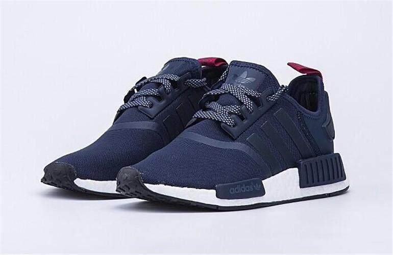 Adidas Official NMD R1 Women's Running Shoe ( Navy Blue