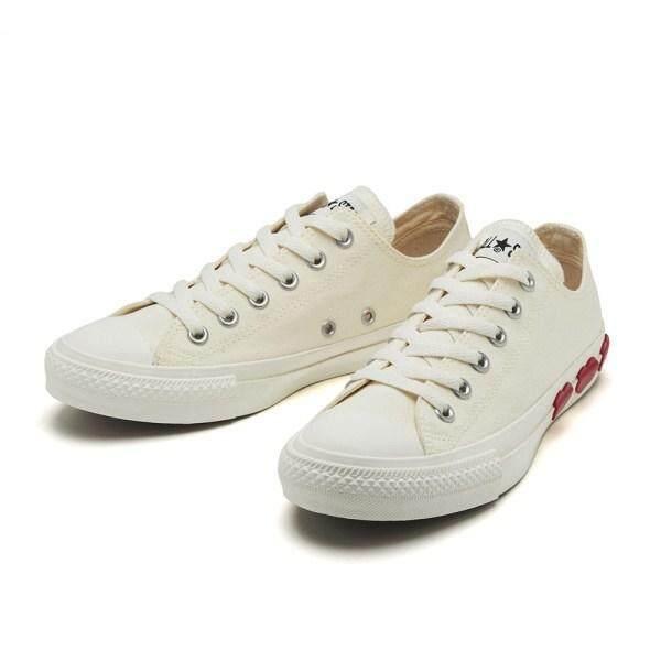 สอนใช้งาน  นครสวรรค์ 2019 ใหม่ญี่ปุ่นจำกัด Converse_ALL STAR THREEHEARTS OX สามขนาดเล็กรองเท้าผ้าใบ