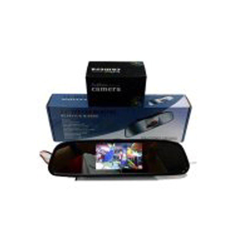 Reverse camera with rear view mirror monitor