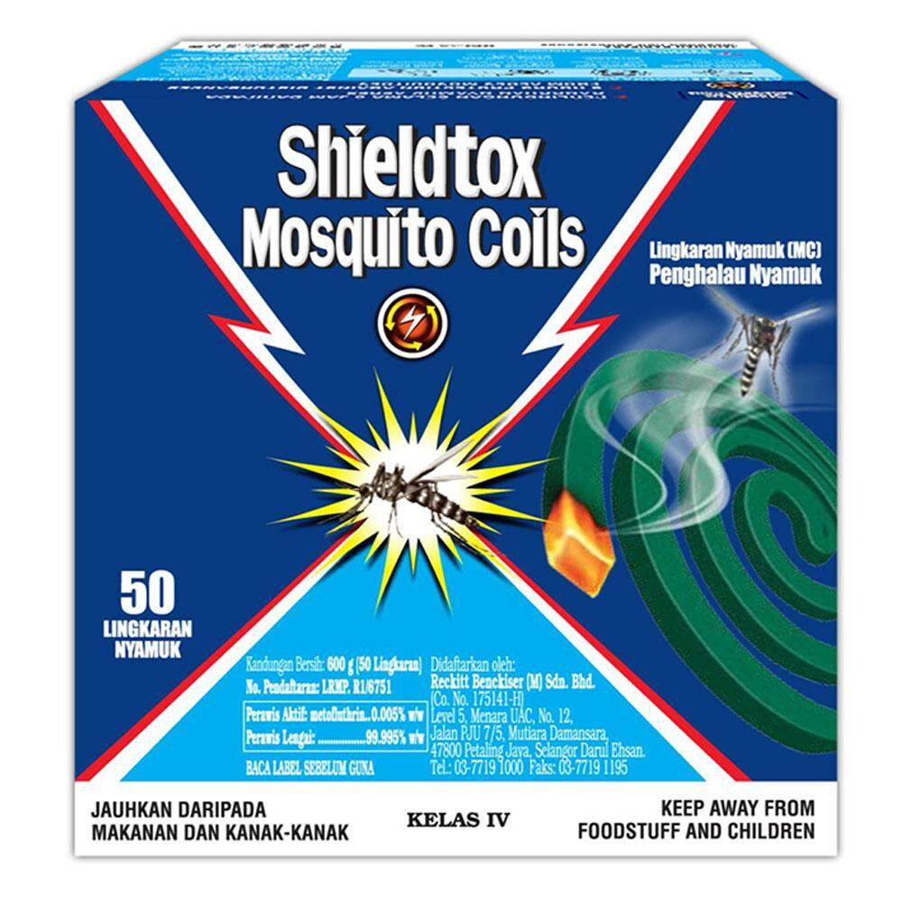 Shieldtox 8 hours Mosquito Coil 50 pieces