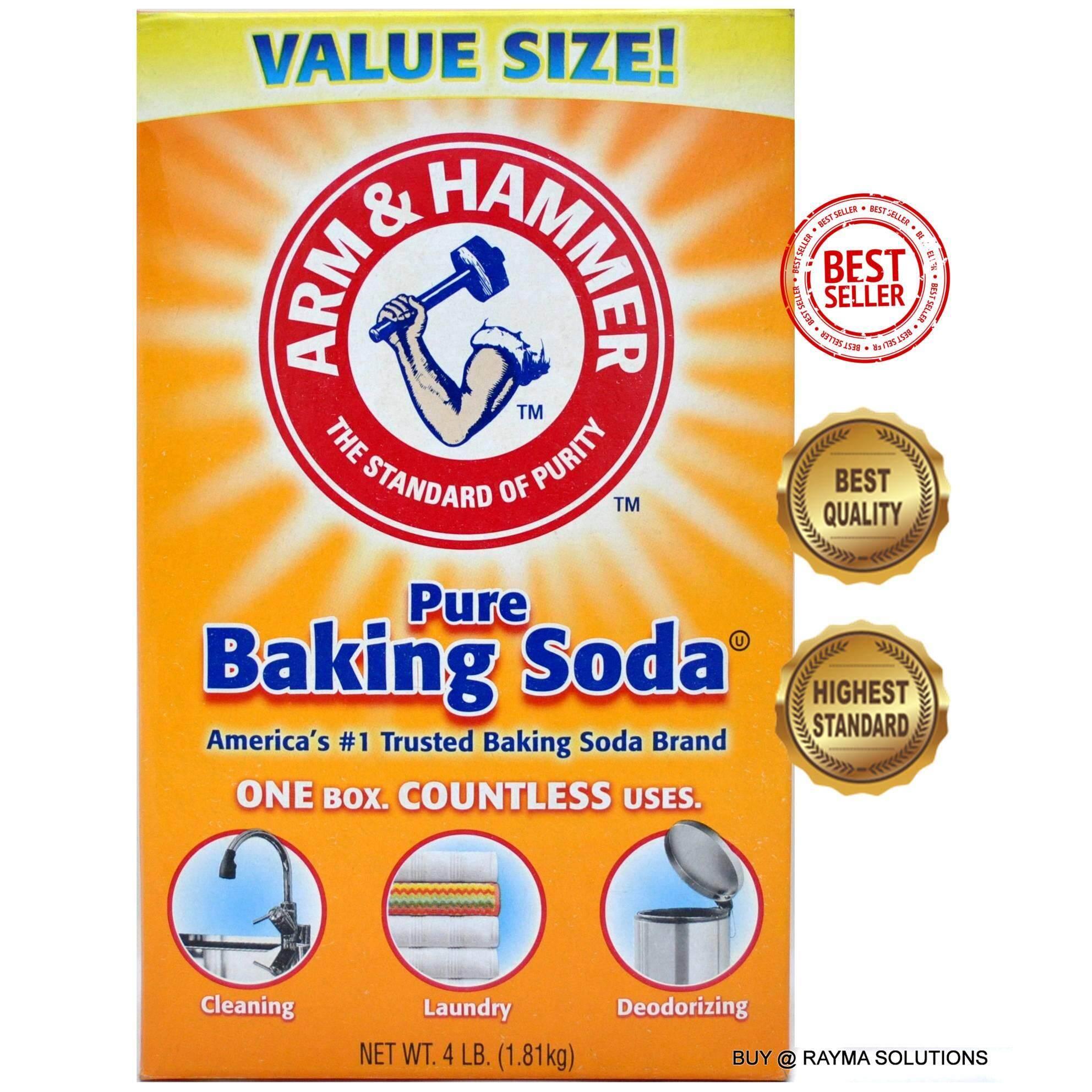 ARM & HAMMER Pure Baking Soda, Value Size, 1.81kg