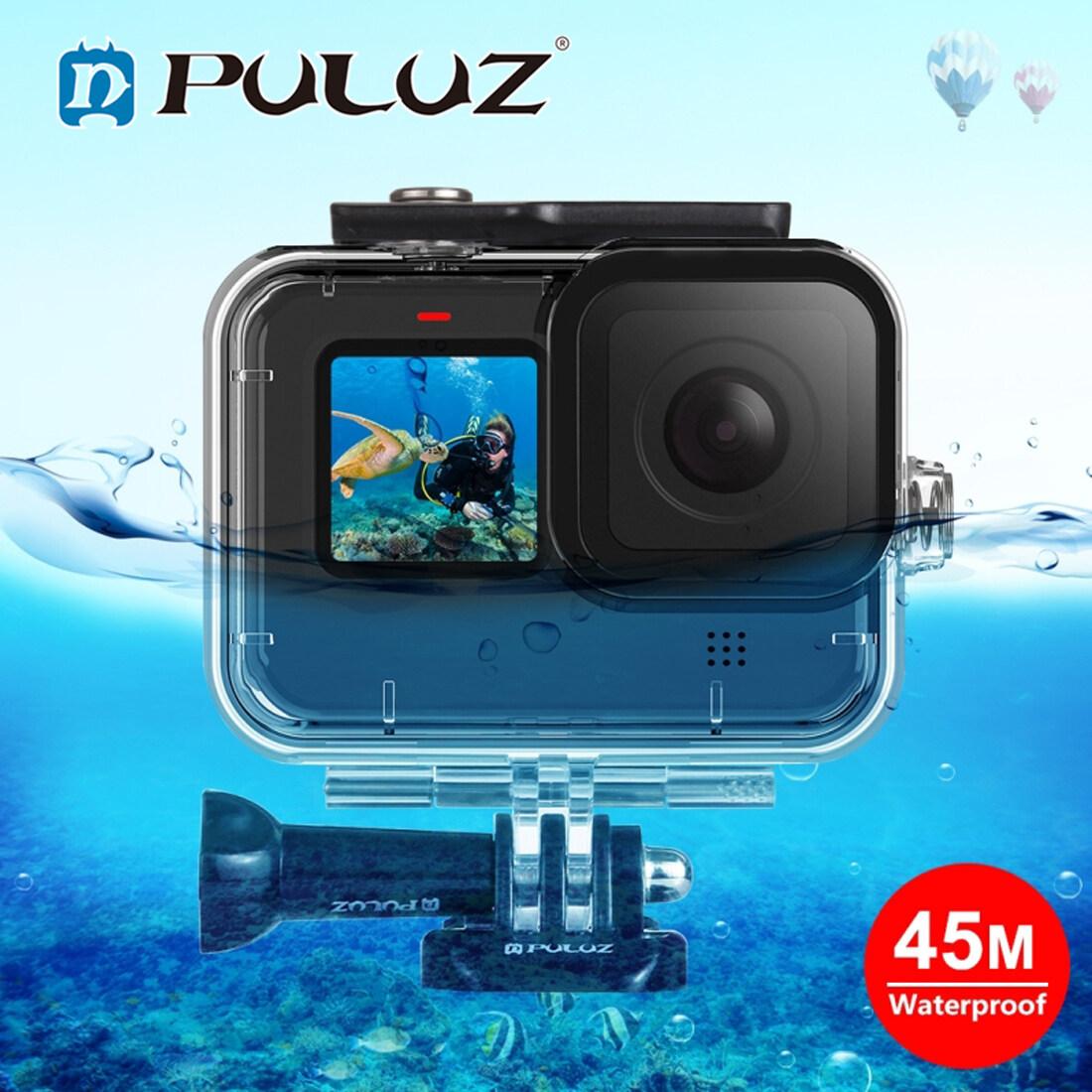 Hình ảnh PULUZ Cho GoPro HERO9 Đen 45M Vỏ Bảo Vệ Chống Nước Với Khóa Cơ Bản Gắn Vít