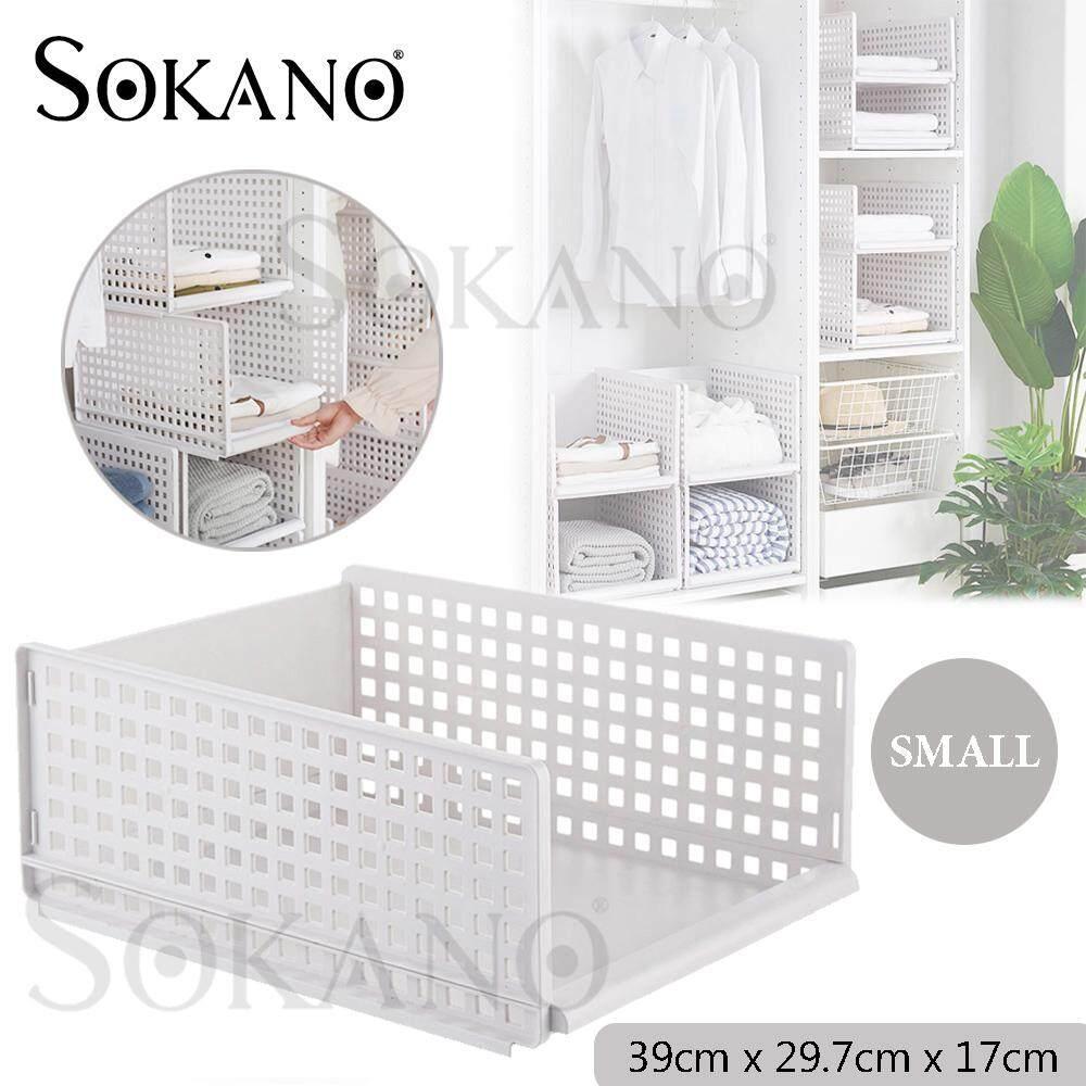 SOKANO SO006 Foldable Wardrobe Organizer Cloth Garment Organizer Mutipurpose Shelf