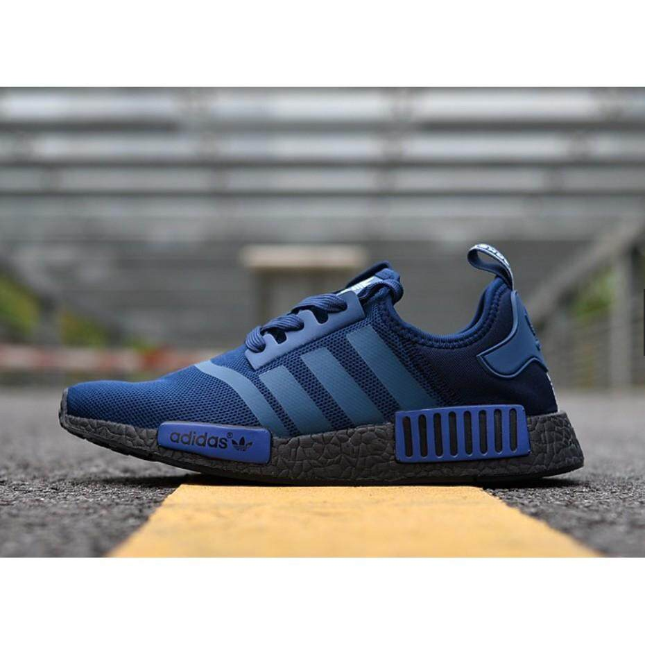 สอนใช้งาน  นครนายก คลังสินค้าพร้อม 100% Adidas Original NMD รองเท้าวิ่งรองเท้าผ้าใบ