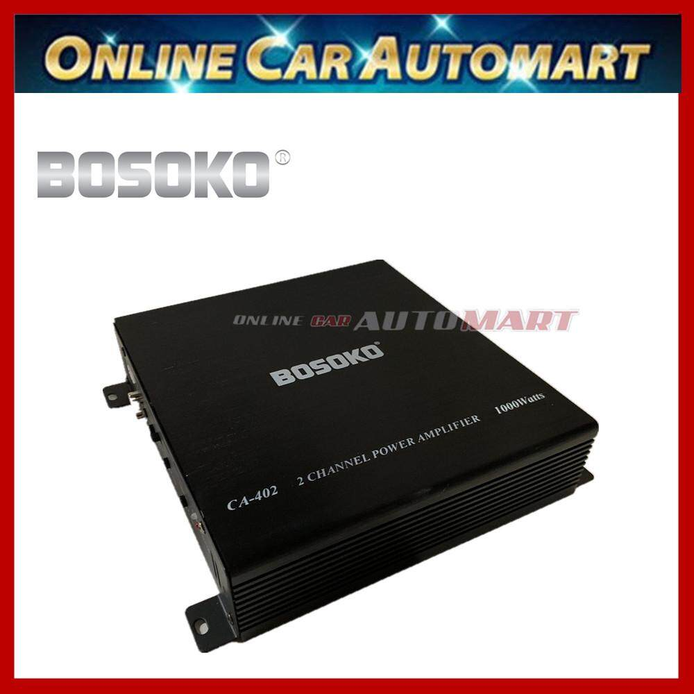 Bosoko 2 Channel Ca 402 Car Amplifier Mosfet High Performance Power