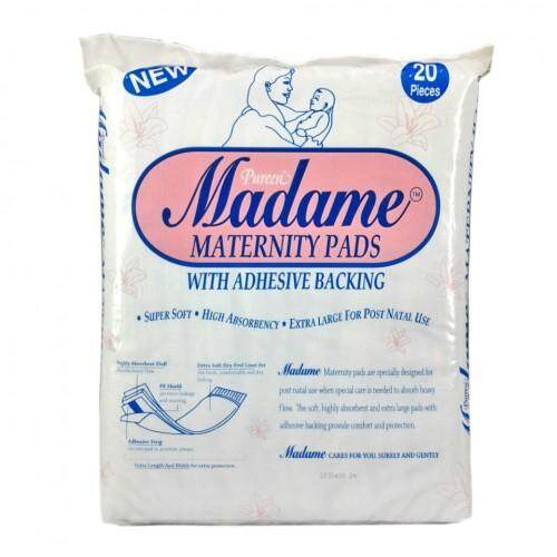 MADAME MATERNITY PADS 20'S (for AFTER BIRTH) PAD BERSALIN