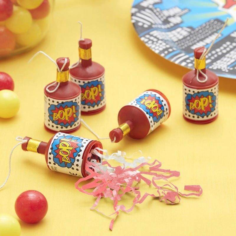 100 Pcs Party Set Popper Party Poppers