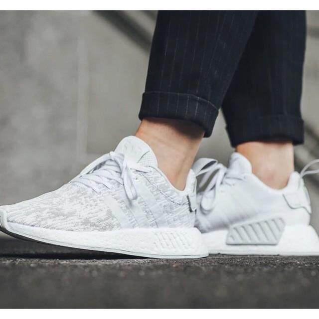 ยี่ห้อนี้ดีไหม  กำแพงเพชร Aonetop 7 สี Ori Adidas NMD R2 คลังสินค้าพร้อมผู้ชาย/ผู้หญิงวิ่ง/รองเท้าลำลอง Size36-45
