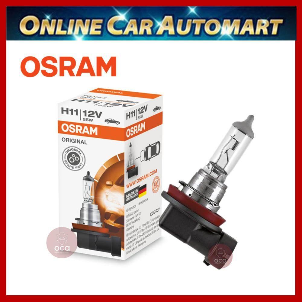 Original Osram H11 Halogen Light Car Light Made in Germany 60/55W
