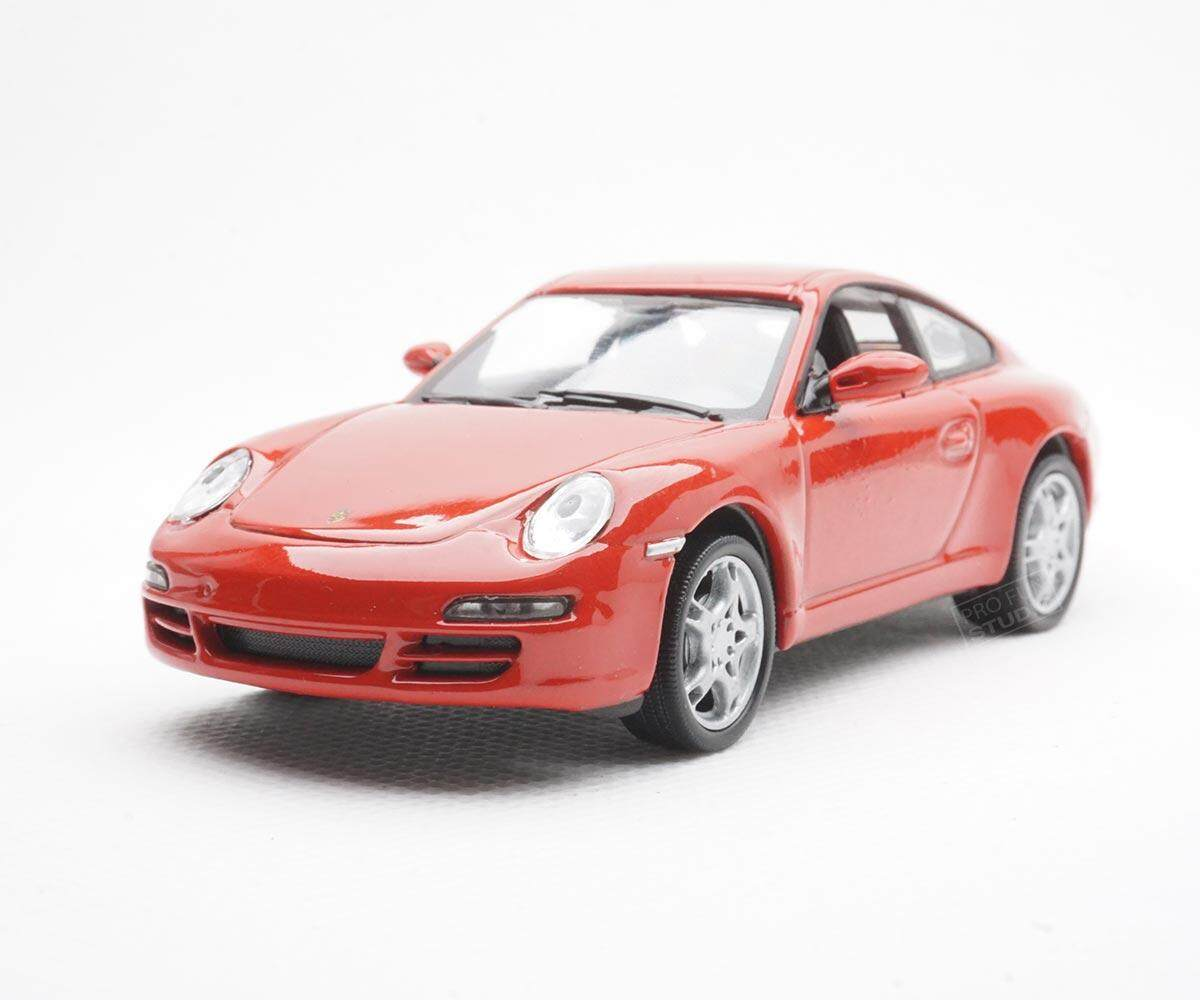 Welly Porsche 997 Cerrara S Racing 1:43 1/43 Diescat Car model Red