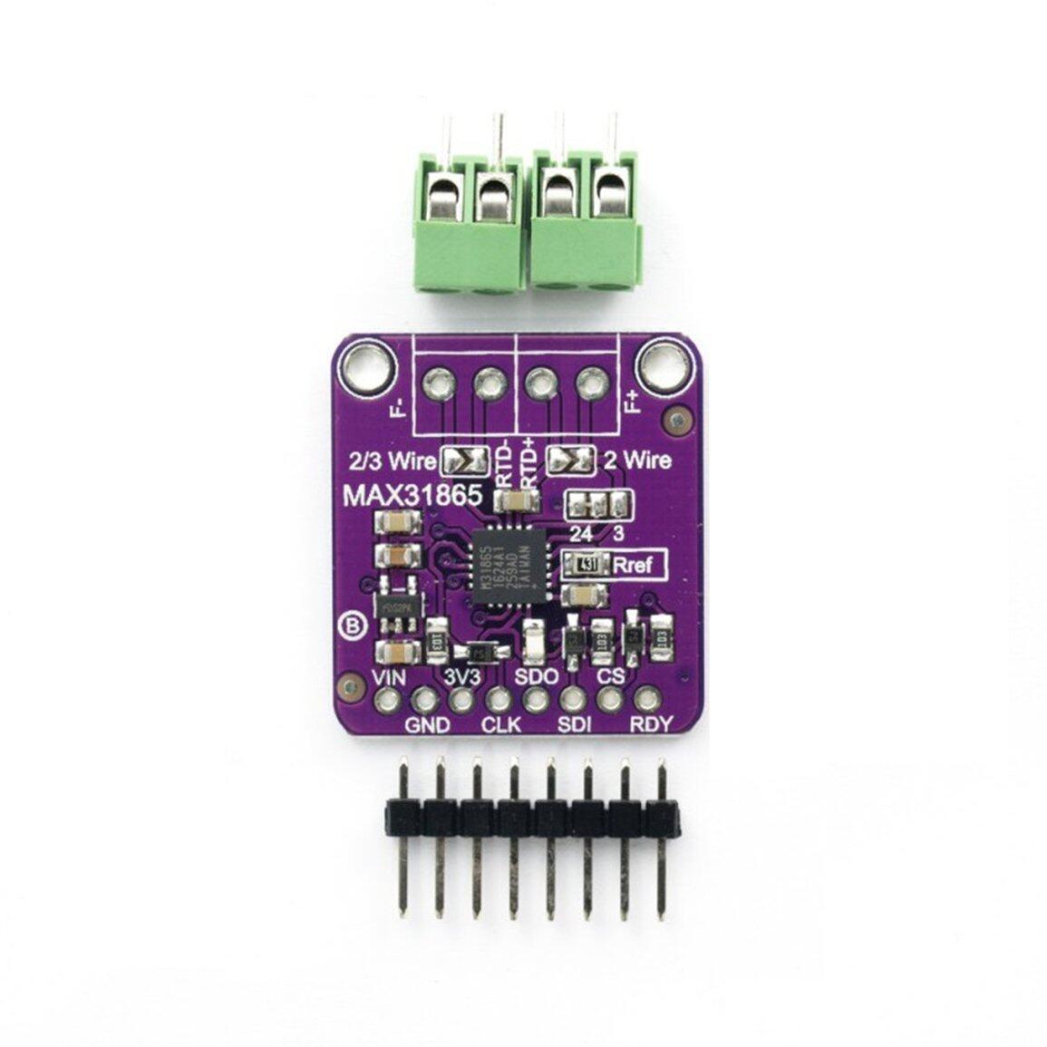 Mô-đun khuếch đại cảm biến nhiệt độ max31865 RTD bán chạy nhất cho Arduino