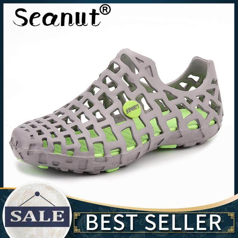 Giày thể thao Nam Dép Sandal Thời Trang PU Sandal Nam Và Nữ Cùng Phong Cách Vườn Cao Cấp Thoáng Khí Nhẹ