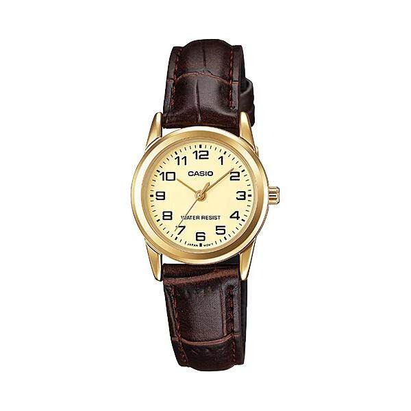 (2 YEARS WARRANTY) Casio Original LTP-V001GL Series Elegant Ladies Watch