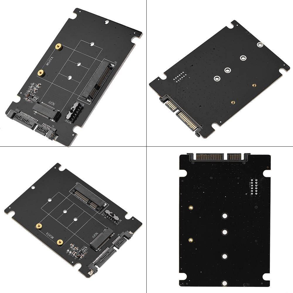 Internal Hard Drives - 2 in 1 Mini M.2 NGFF & mSATA SSD to SATA 3.0 Hard Disk
