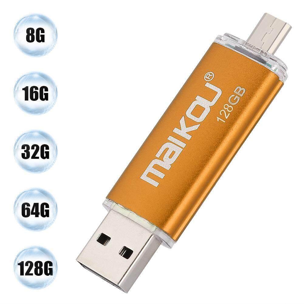 Storage & Hard Drives - Drive Portable 2 OTG High U USB Stick Flash Dual-use Memory 0 Disk Speed Orange - [8G / 16G / 32G / 64G / 128G]