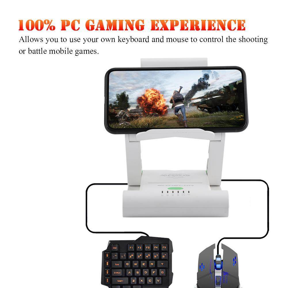 Controllers - SHINECON Keyboard Mouse Converter Portable Game Phone Holder