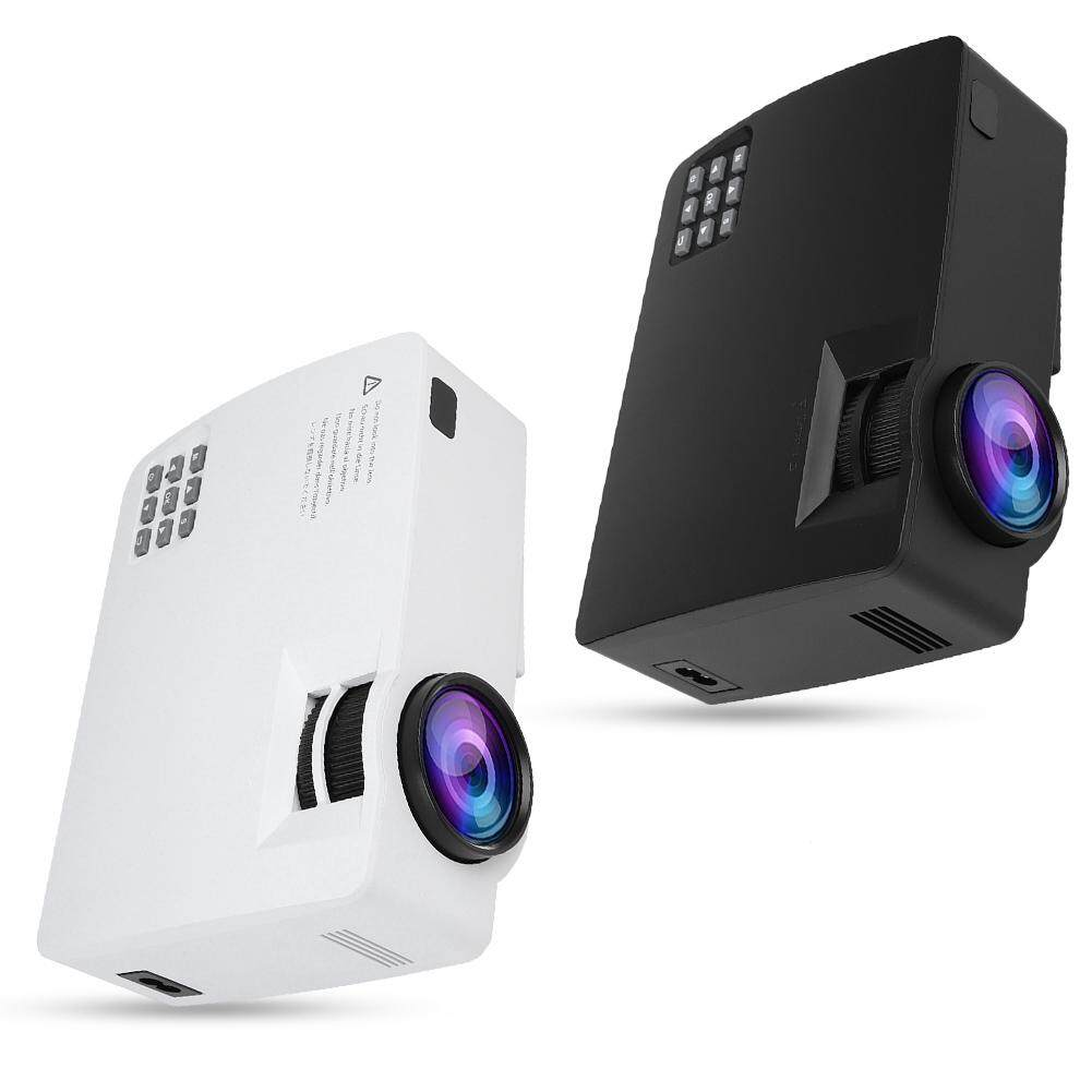 Projectors - 30-120in Projection Stereo Full Projector Optical Keystone - [BLACK / WHITE]