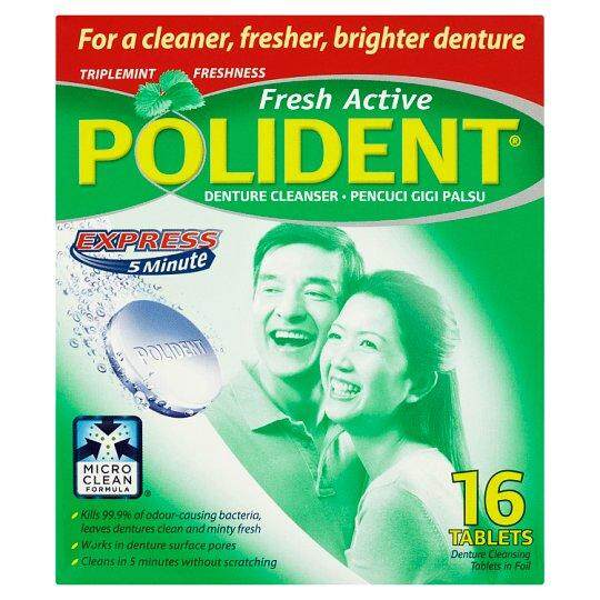 Polident Fresh Active 16\'s
