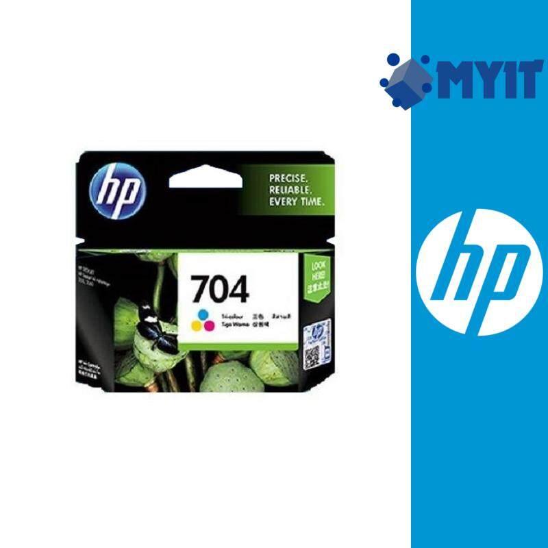 HP 704 Original Color Ink Cartridge for Deskjet 2060