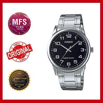 (2 YEARS WARRANTY) Casio Original MTP-V001D-1B Standard Analog-Men's Watch