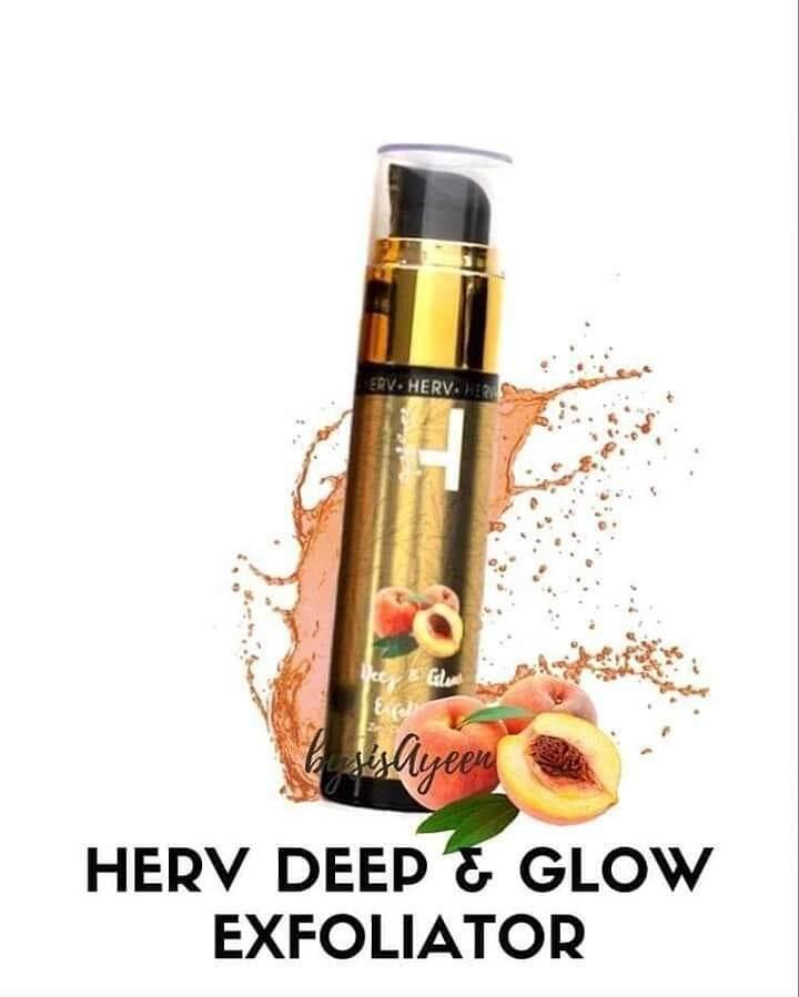 Herv Deep & Glow Exfoliator
