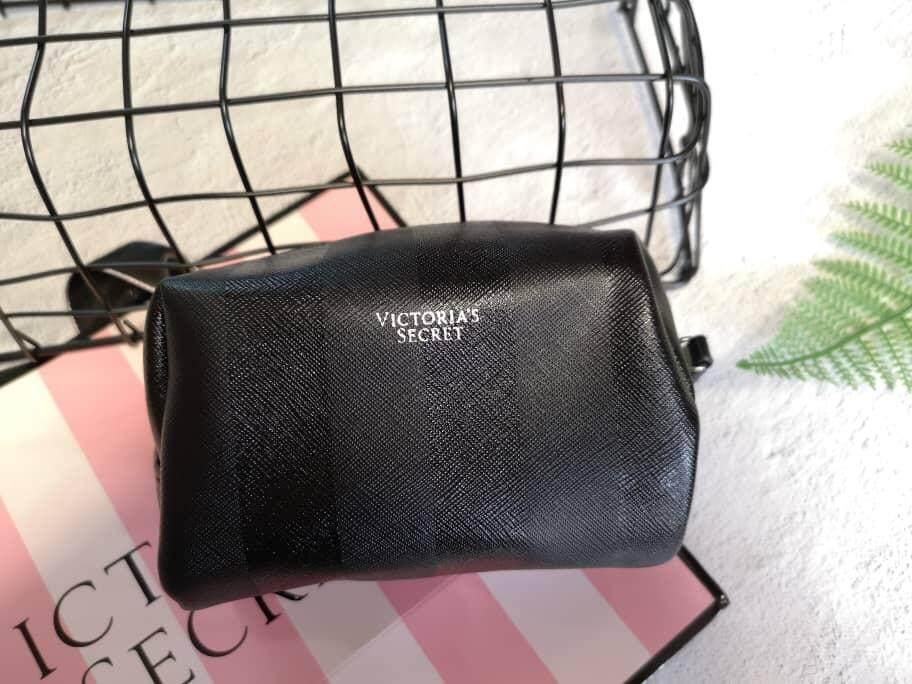 Victoria's Secret Multifunction Black Stripes Mini Pouch
