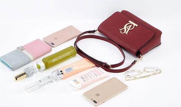 VS Victorias Secret Glamour Sling Bag With Magnet Closure Button