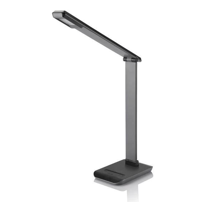 PHILIPS 71665 Crane table lamp LED Black / White 1x4W